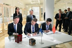 CIHA and FIHA representatives signed the Memorandum of Understanding in Helsinki on 6 February 2018